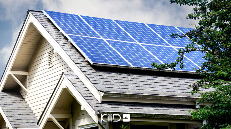 پنل خورشیدی در معماری خورشیدی