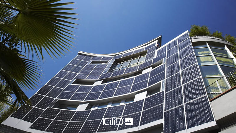 سلول خورشیدی در معماری خورشیدی